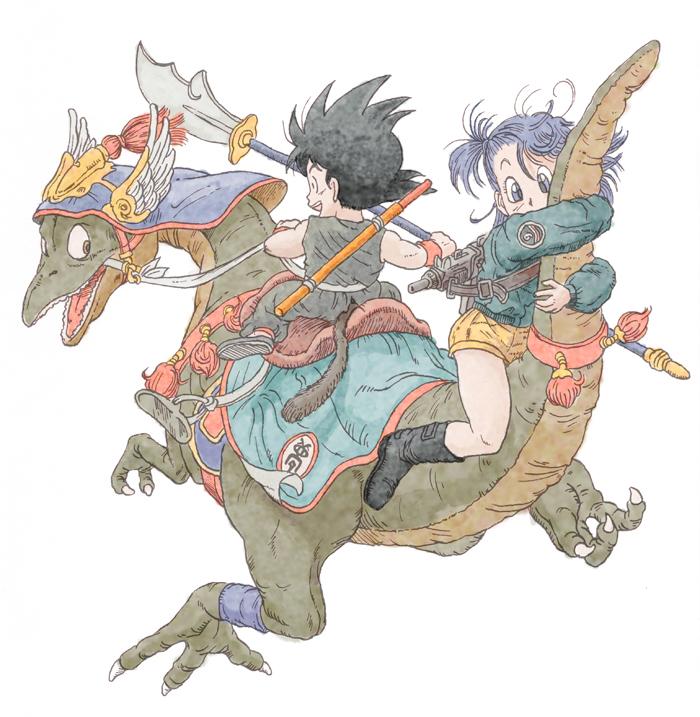 ドラゴンボール,鳥山明,イラスト