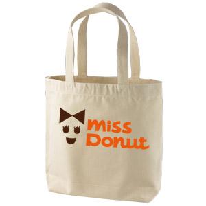 miss donutパロディートートバッグ