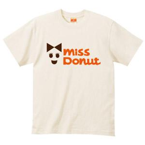 miss donutパロディーTシャツ