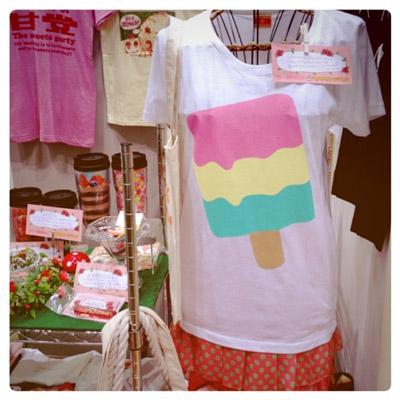 アイスキャンデーTシャツ