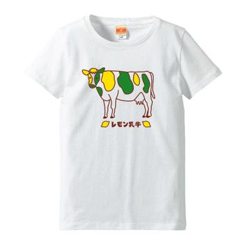 レモン乳牛Tシャツ