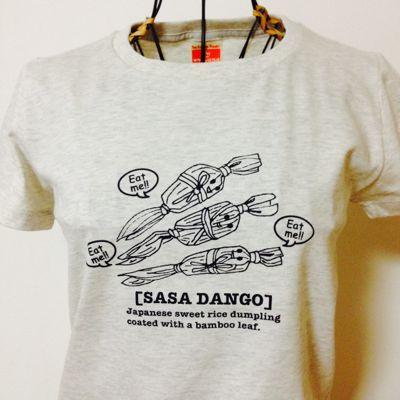 笹だんご Tシャツ