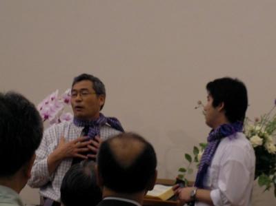 宣教大会 入月師 三木師