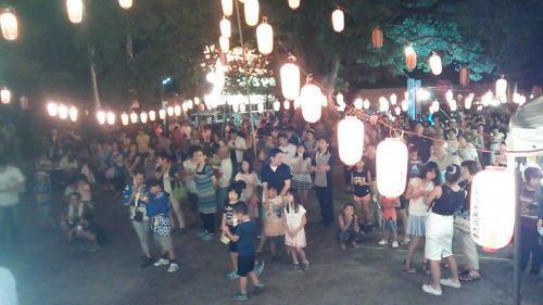 六所宮夏祭り