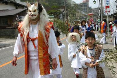 瀬波温泉コンコン祭り