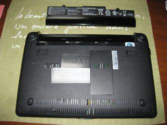 EeePC 1005HA メモリ増設 04