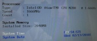 EeePC 1005HAメモリ増設 10