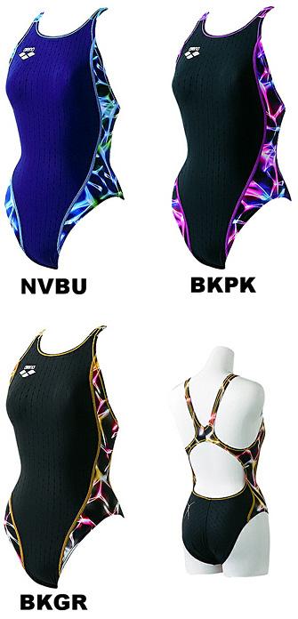 ARN-0022WH アリーナレディース競泳水着 nux-f リミック
