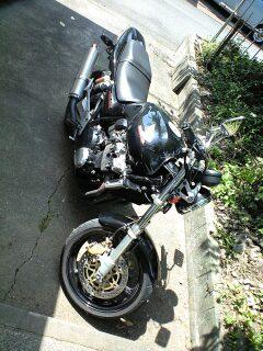 バイク CB400SF