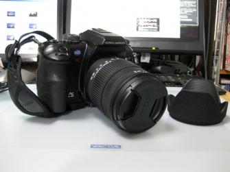 α-7D SIGMA レンズ装着