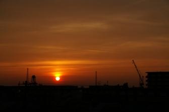 2011/06/03 18:38 夕日