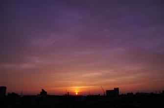 2011/06/03 18:40 夕日