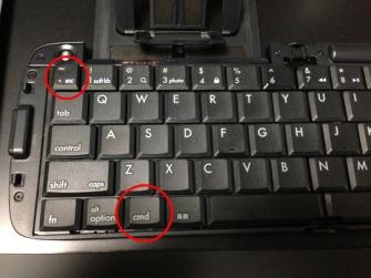 NEXUS7 ワイヤレスキーボードでの日本語入力の切り替え