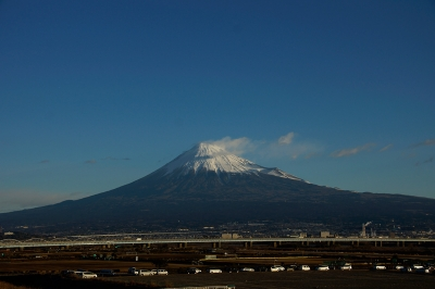 2015 元旦 初日の出 富士山