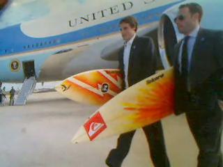 オバマ大統領のサーフボード!