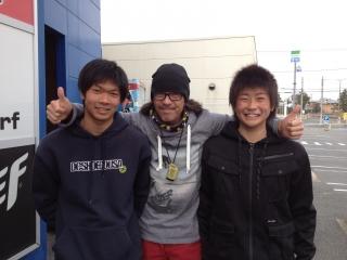 DJ TSUYOSHI氏!