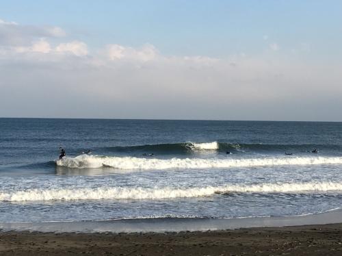 今日の波!!!