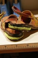 即興製作の靴2
