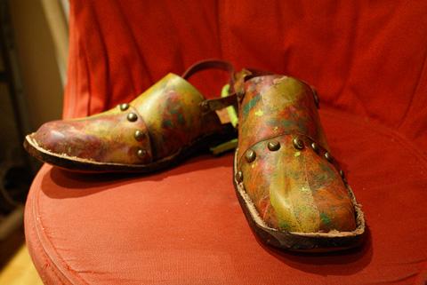 即興製作の靴3