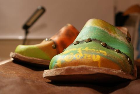 即興靴製作2足目
