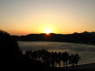 弓ヶ浜 夕焼け