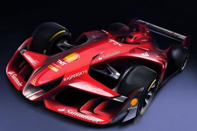 フェラーリF1コンセプト 1