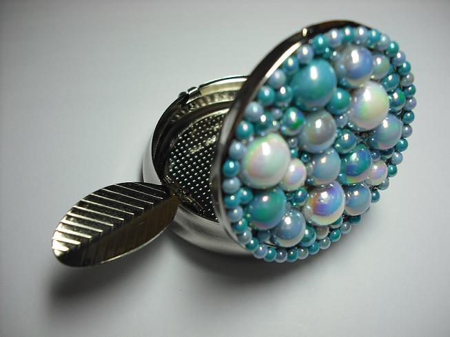 ブルー系灰皿