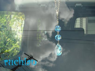しずく型サンキャッチャー 車用(ミニサイズ)