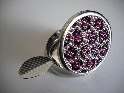 携帯灰皿濃いピンク