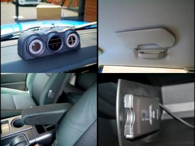 USトヨタ(北米トヨタ)FJクルーザー 2008年モデルサイドバイザー