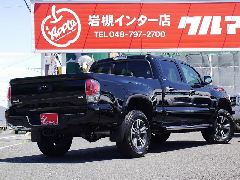 USトヨタ 新型タコマ2016年モデル リミテッド ブラック リアビュー.jpg
