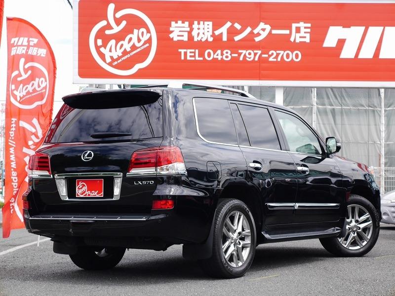 2013年モデル 新車並行 レクサス LX570 ラグジュアリーパッケージ リア