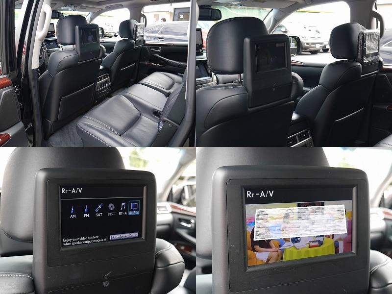 2013年モデル 新車並行 レクサス LX570 ラグジュアリーパッケージ リアエンターテイメントシステム