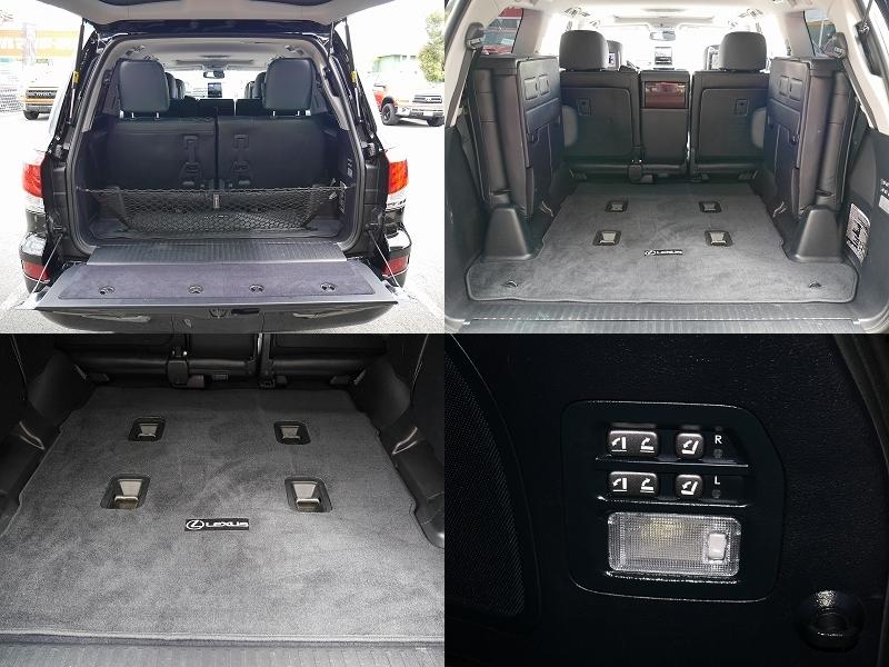 2013年モデル 新車並行 レクサス LX570 ラグジュアリーパッケージ リアシート カーゴ