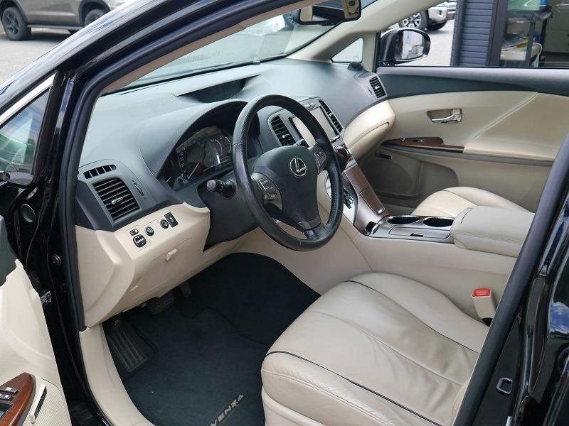 USトヨタ ヴェンザ 2010年モデル 新車並行 3.5L レザーパッケージ ブラック 前席