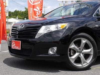 USトヨタ ヴェンザ 2010年モデル 新車並行 3.5L レザーパッケージ ブラック フェイス