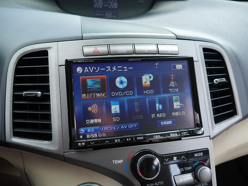 USトヨタ ヴェンザ 2010年モデル 新車並行 3.5L レザーパッケージ ブラック アルパイン BIG_X