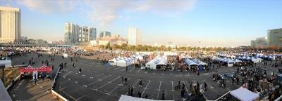 稲妻フェスティバル_2016_お台場_会場_全体
