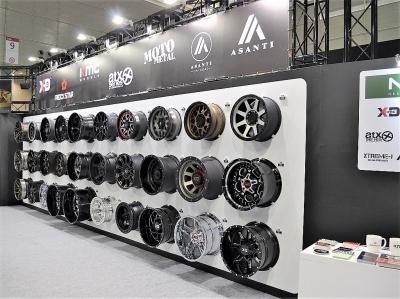 MLJブース_アルミホイール_KMC・ASANTI・MOTOMETAL_東京オートサロン2018