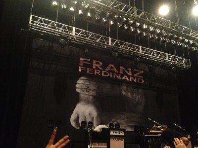 Franz Ferdinand  // Japan Tour 2013