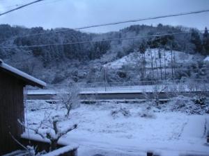京丹波町 また雪!
