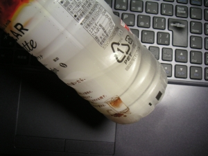 クリアラテ、牛乳増量