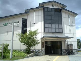北松本駅お城口
