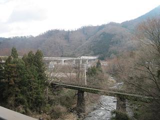 富士急行線とリニア実験線