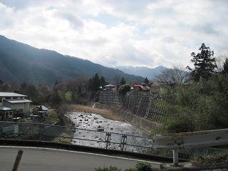 桂川に合流