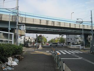 一之江駅の近く