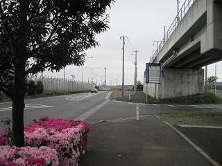 空港への道路