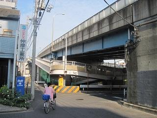 自転車入口