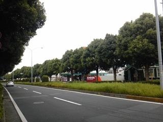 土気駅からの道