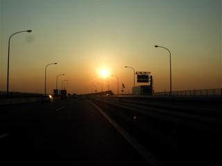 20071115夕日がきれい